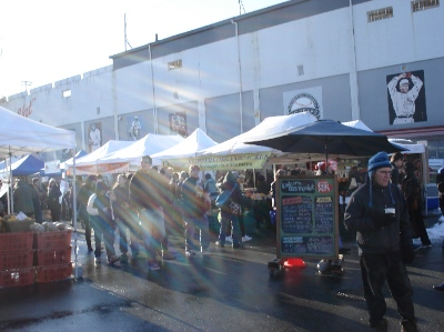 The Winter Market at Nat Bailey Stadium runs from November 1 to April 25 on Saturdays.
