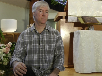 Mikhail Lennikov has lived in sanctuary at First Lutheran Church for over five years.