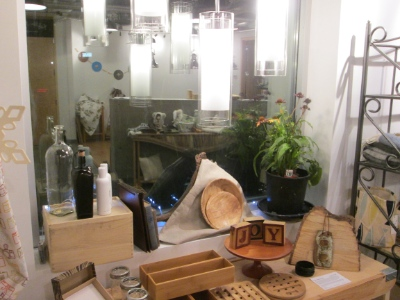 Second Nature Home Boutique features products that are environmentally friendly, locally made and/or recycled.