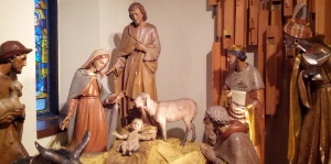 The Woodward's creche will be on display at Christ Church Cathedral from December 16 - January 4.