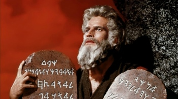Charlton Heston is one of many actors who have portrayed Moses in movies.