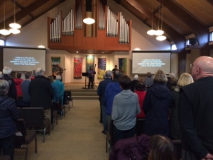 Three Richmond churches sponsored the conference.