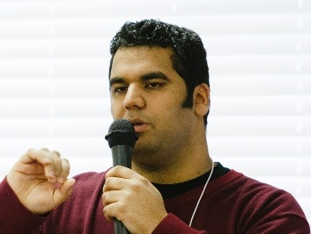 Kapil Sharma, the newly installed pastor of Friendship Baptist Church in Coquitlam, will address *** *** *** ***