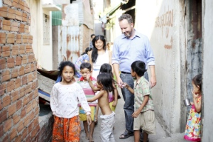 Craig Greenfield created Alongsiders to work with children in Cambodia and now other locations. as well.