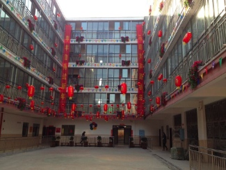 The Chinese government partnered with ICC in creating this new children's care centre.