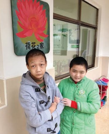 Tao Tao and Ju Ju joined ICC's Lotus Family at the new children's care centre at Hengyang.