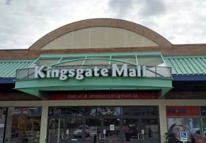 Kingsgate Mall manager Leyda Molnar has been very welcoming to the King's Way congregation..