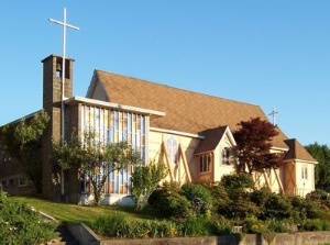 St. Mary the Virgin Anglican Church today. Photo courtesy of the church.