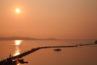 Wonsan is a large port city in North Korea.