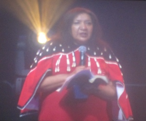 Lynda Prince said First Nations people welcomed the rest of us to Canada.