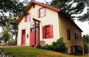 Vancouver's oldest building has been moved to West Point Grey.