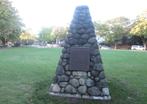 This cairn was built in Marpole Park to recognize the Great Marpole Midden, but its significance has largely been overlooked.