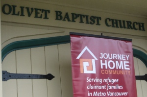Journey Home held its 10th anniversary party at Olivet Baptist Church in New Westminster; the church has been very supportive.