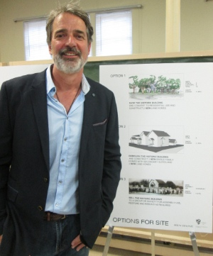 Paul Phillips is hoping to restore the former church building.