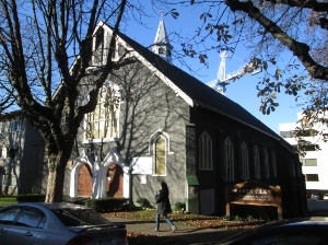 Vancouver Korean Presbyterian Church is on 10th Avenue between Cambie and Main.