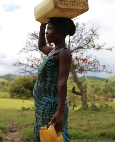 Nine million people in Uganda do not have access to clean water.