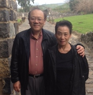 Ying Kai, with his wife Grace.