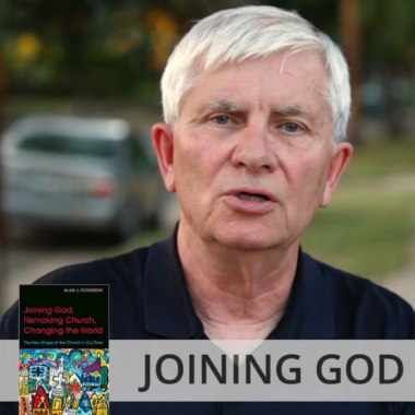 """Alan Roxburgh has written two new books which urge his readers """"to discern what God is up to ahead of us in the communities where we dwell."""""""