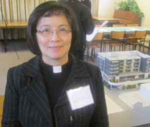 Pastor Dororhy Chu is glad to be able to help the community with more affordable housing.