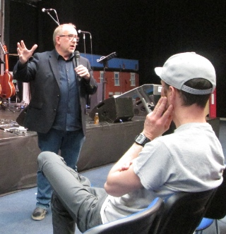 Bill Hogg of the C2C Church Planting Network, based in Metro Vancouver, was a keynote speaker at the Proximity Conference.
