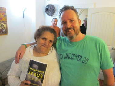 Craig Greenfield with his 'sista from another motha' Beth (Elizabeth). See below for an excerpt from Subversive Jesus about her.