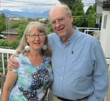 Debra Fieguth and her husband Ian Ritchie came out to Vancouver in 2014 from their home in Kingston, Ontario.