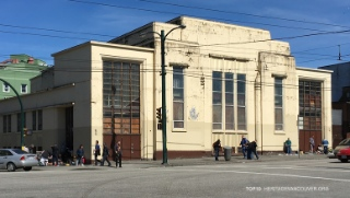 The old Salvation Army Temple in the Downtown Eastside also made the list.