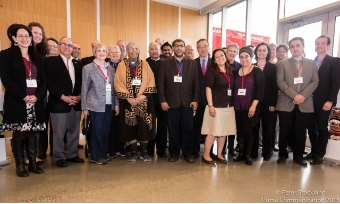 Participants in the Faith Alliance Gathering. Peter Stockland photo.
