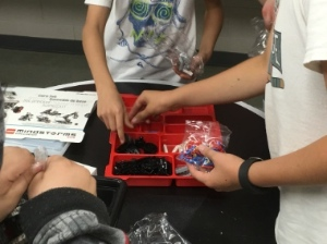 LEGO Mindstorms is providing a way for Youth Unlimited, HD Stafford Middle School and BCIT students to help pre-teens.