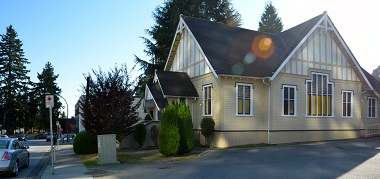 Southside Church began in the Edmonds area of Burnaby, out of this building.