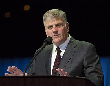 Franklin Graham will speak at Rogers Arena next March as the Festival of Hope comes to an end. (billygraham.org)