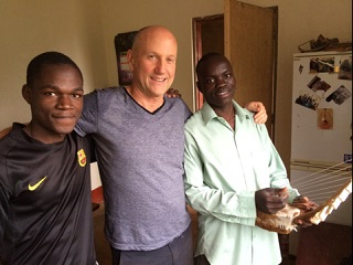 Local musician Andy Park loves DuncanAfrica guitars; he travelled to Uganda to see the shop firsthand.