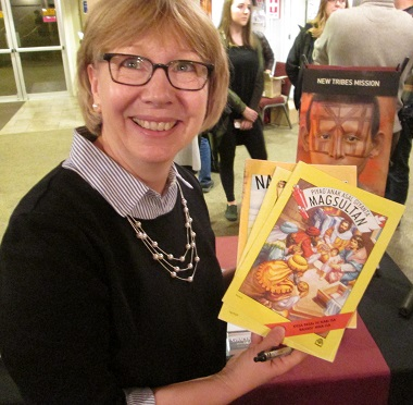 Gracia Burnham says these comics in the Taurug language have had an impact on her former captors.
