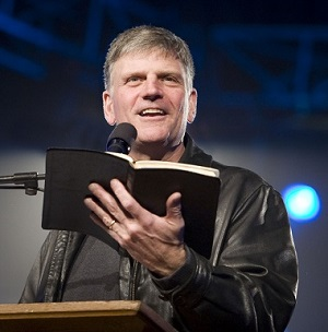 Franklin Graham recently sent a message to the local community.
