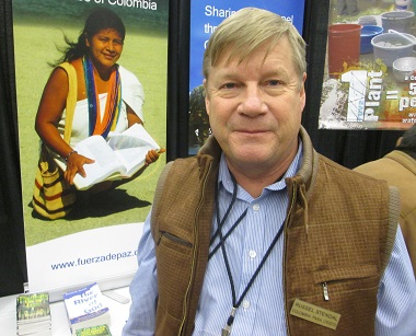 Russ Stendal comes to Missions Fest every year from his home in Colombia.