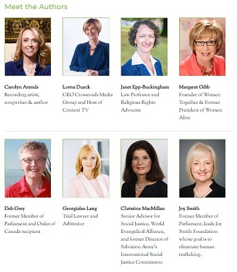 Eight women are featured in Faith, Life and Leadership.