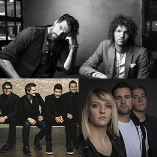 King and Country (top) *** **** and After All are among the bands that will be taking part in the Festival of Hope.