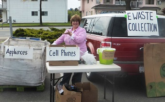 Emmanuel Mennonite Church holds an annual e-waste recycling Sunday.