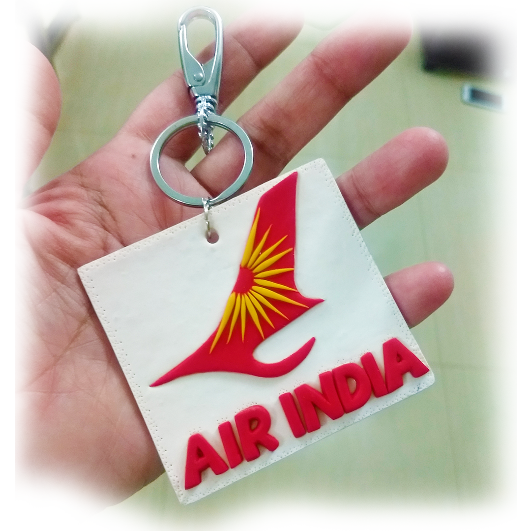Air India Airlines Keychain