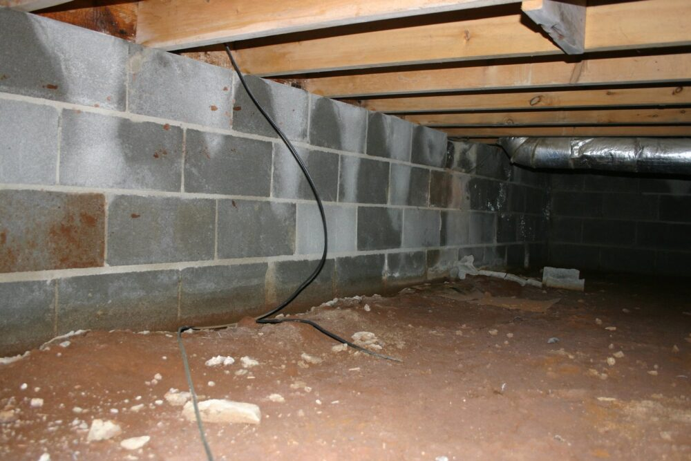Wet Crawl Space Louisville