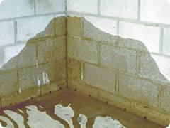 Basement waterproofing in Louisville.