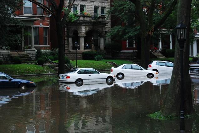 Flooding in Louisville, KY