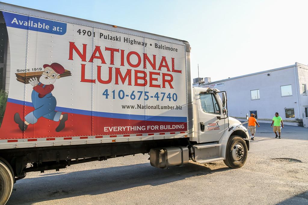 modern truck fleet national lumber
