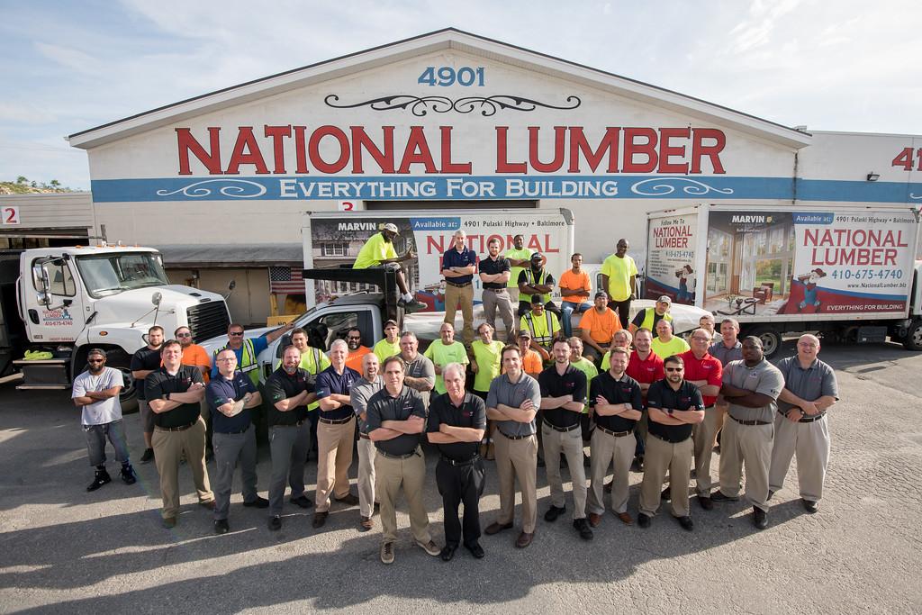national lumber careers whole team