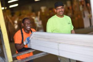 National Lumber banner Baltimore lumber lumber dc team