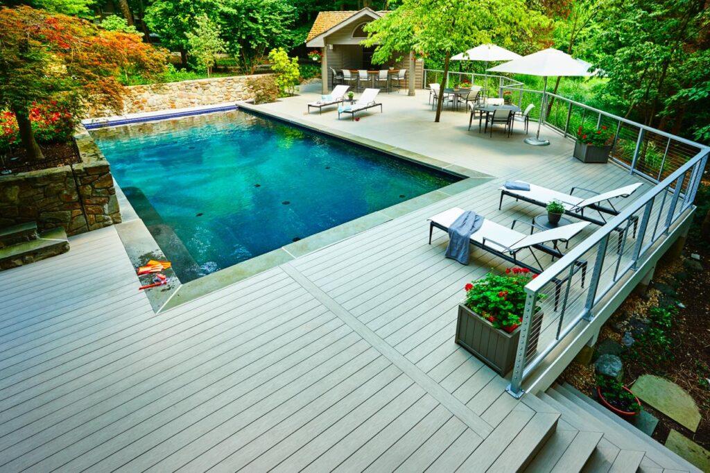 pool deck Northern Vi