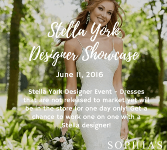 Stella York Trunk Show