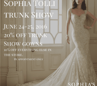 Sophia Tolli Trunk Show