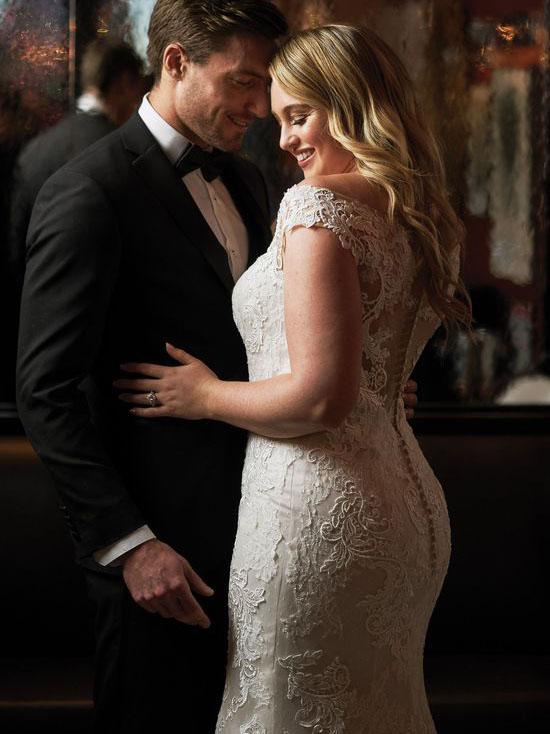 Justin Alexander Designer bridal gown available at top Bridal Shop Sophia's Bridal & Tux