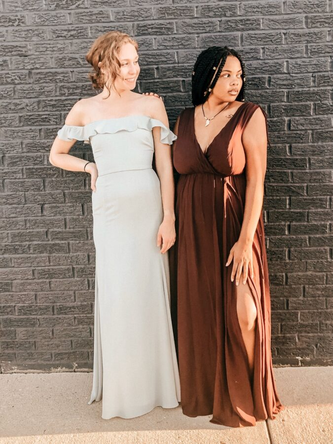 Shop for your bridesmaids at Sophia's Bridal and Tux